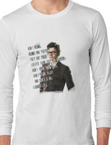 DON'T BLINK!! Long Sleeve T-Shirt