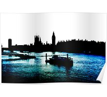 London, River Thames Poster