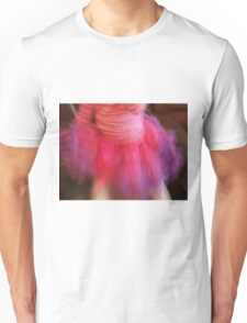 in a ruffle of color she dances on petite feet Unisex T-Shirt