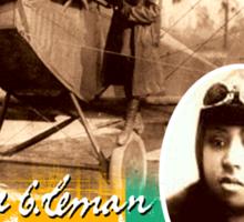 bessie coleman Sticker