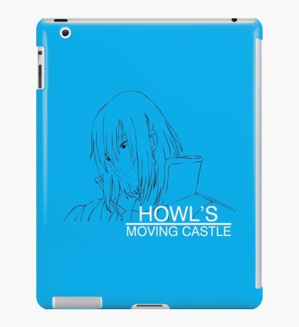Howl's Moving Castle - Howl iPad Case/Skin