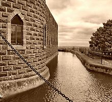 The Castle Moat by Clive