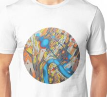 imaginary map of Rome Unisex T-Shirt