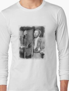 Frank Sinatra by John Springfield Long Sleeve T-Shirt