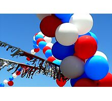 Celebrate in Red, White & Blue Photographic Print