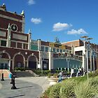 Asbury Park Boardwalk Entrance by denro