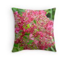 Profound Pinks Throw Pillow