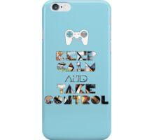 Keep Calm and Take Control iPhone Case/Skin