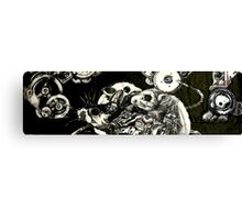 The anatomy of a clockwork mouse Canvas Print