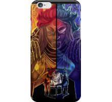 Naruto and Sasuke (sage of six paths) iPhone Case/Skin