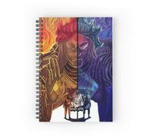 Naruto and Sasuke (sage of six paths) Spiral Notebook