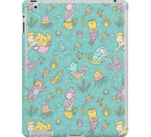 Mermaids & cats iPad Case/Skin