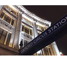 Nokia Collection - Oxford Circus Photographic Print