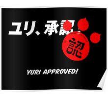Yuri Kuma Arashi - Yuri approved! Poster