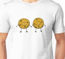 Cute chocolate chip cookie besties Unisex T-Shirt