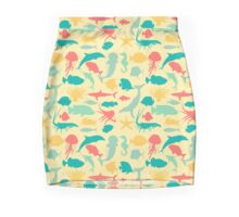 Sea Creatures Mini Skirt