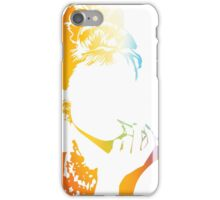 Audrey Hepburn vacant expression iPhone Case/Skin