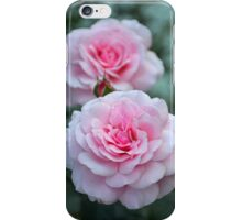 Elegant pink roses iPhone Case/Skin