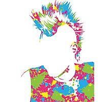 Punk Vacant expression Photographic Print