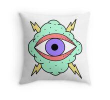 Eye In The Cloud II Throw Pillow