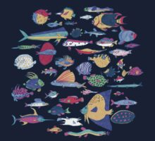 fish Baby Tee
