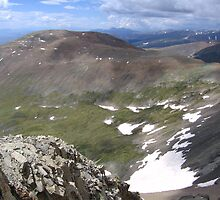 Divine Paint Strokes, Mount Lincoln, CO 2010  by J.D. Grubb