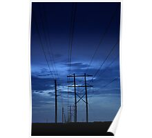 electrical blues Poster