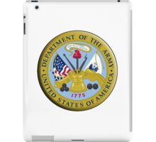 American Army, ARMY, ARMIES, USA, United States Army, Emblem of the United States, Department of the Army iPad Case/Skin