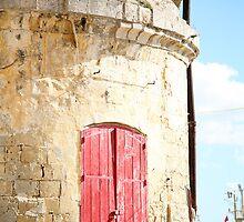 Red Door in Malta by tamarakenyon