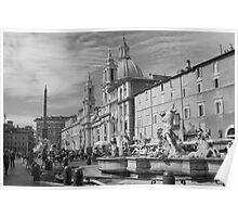 Piazza Navona, Roma Poster
