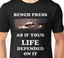 Bench Press - dark shirts Unisex T-Shirt