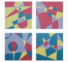 Geometric Pastels  Kids Clothes