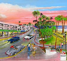 Rob Beilby Paints San Clemente by Rob Beilby