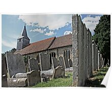 St Mary's Church, Kemsing Poster