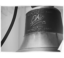 Ohio Statehouse- Bell Poster