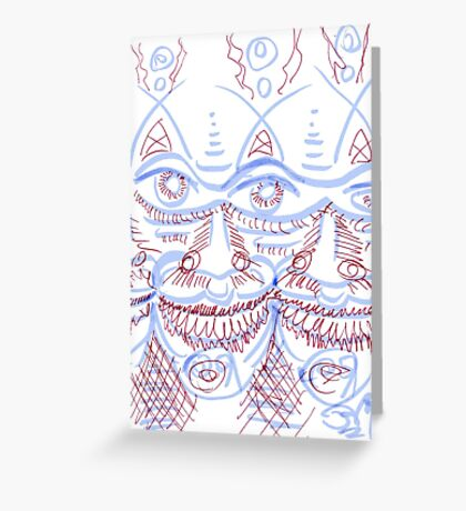 Multiply Greeting Card