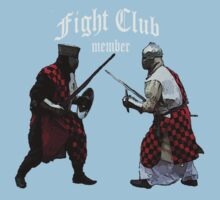 Medieval Knight Fight Club Member t-shirt One Piece - Short Sleeve