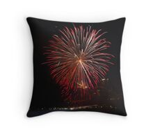 The Rockets of Independence Day Throw Pillow