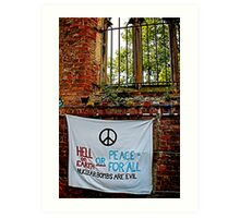Peace and Ecology Festival, Liverpool July 4th 2010 Art Print