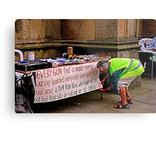 Peace and Ecology Festival, Liverpool, 4th July 2010 Metal Print