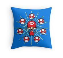 Magic Plumber Throw Pillow