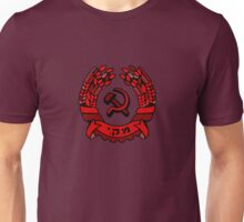 Maki Rakah Israel communist party coat of arms hammer sickle Unisex T-Shirt