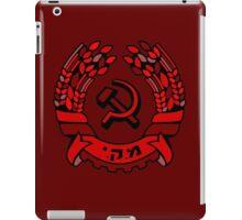 Maki Rakah Israel communist party coat of arms hammer sickle iPad Case/Skin