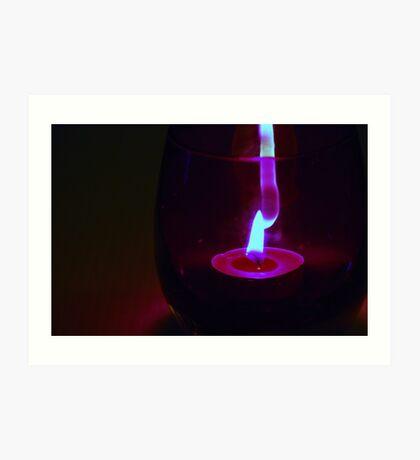 Light Flame. Art Print