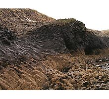 Staffa Rock Formations Photographic Print