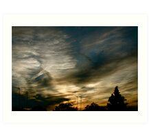 Sunset #1 Art Print