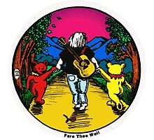 Fare Thee Well Photographic Print