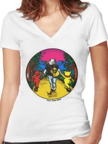 Fare Thee Well Women's Fitted V-Neck T-Shirt