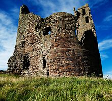 Dunstanburgh Tower, Northumberland by PaulBradley
