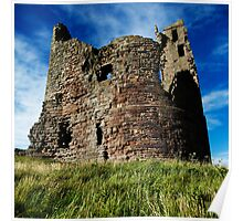 Dunstanburgh Tower, Northumberland Poster